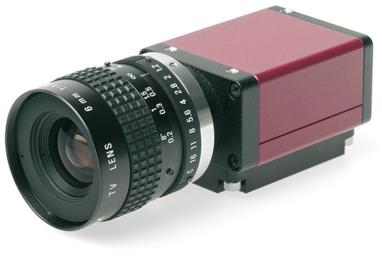 Camera with FireWire interface