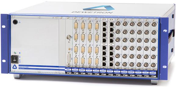DEWE2-F13-FIBRE long distance PCI connection via fibre cable
