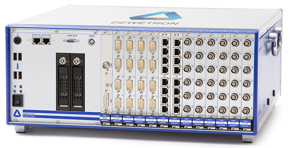 DEWE2-M13 rack mount data acquisition system