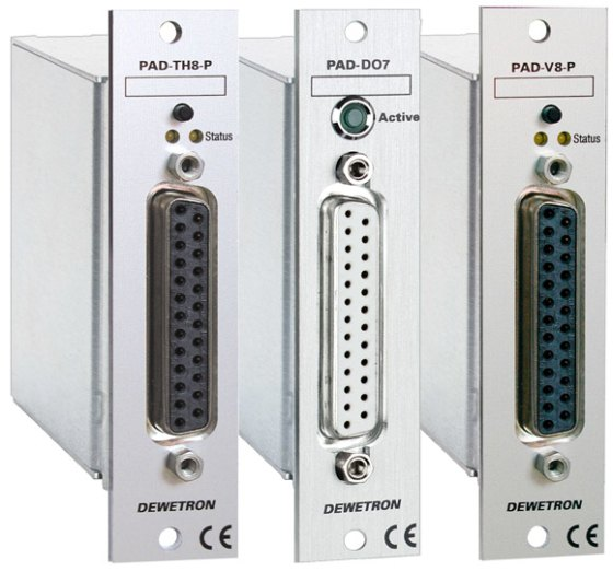 PAD amplifiers