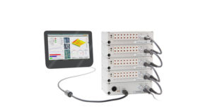 CVT Logger for quasi-static current, voltage, temperature measurements