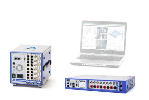 Front-end systems to turn your laptop into a measurement instrument : DEWE2-F4s and TRIONet