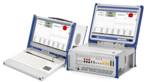Transient recorder for very high sampling rates up to 200 MS/s with DEWE-800-TR, DEWE-5000-TR