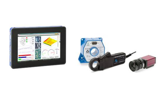 Sensors and components for your measurement task: mobile display, current transducers, cameras, gps sensors, etc
