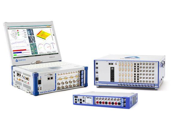 Messtechnik Systeme: DEWE2-A4, DEWE2-M13s, TRIONet