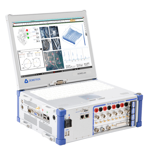 DEWE2-A4 measurement tool for data acquisition