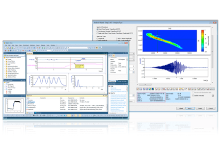 FlexPro, data analysis software for DEWETRON measurement systems