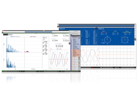 OXYGEN with option power for power measurements, power analysis