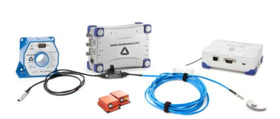 Sensors: current transducer, crancangle-cpu, motion tracker, vgps, tacho probe
