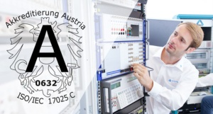 Accredited Calibration - DEWETRON ist nach ISO/IEC 17025 akkreditiert