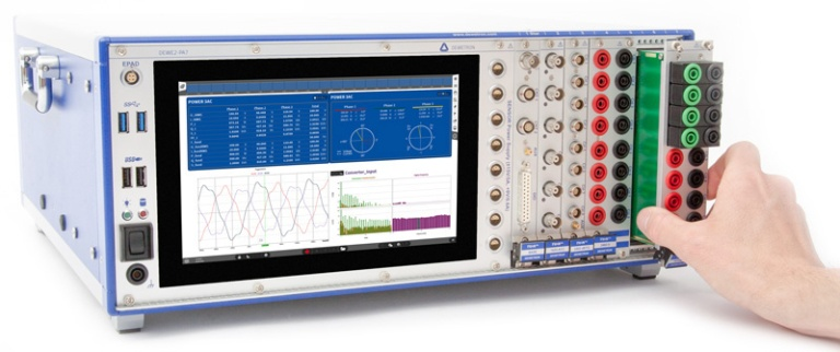 Modular Power Analyzer with module change