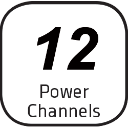 Icon 12 Power Channels