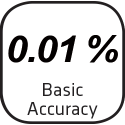 Icon with Basic Accuracy of 0.01 %