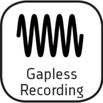Icon gapless recording