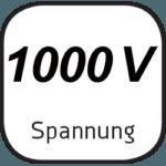 Icon für 1000 Volt Spannung des DEWE2-PA7