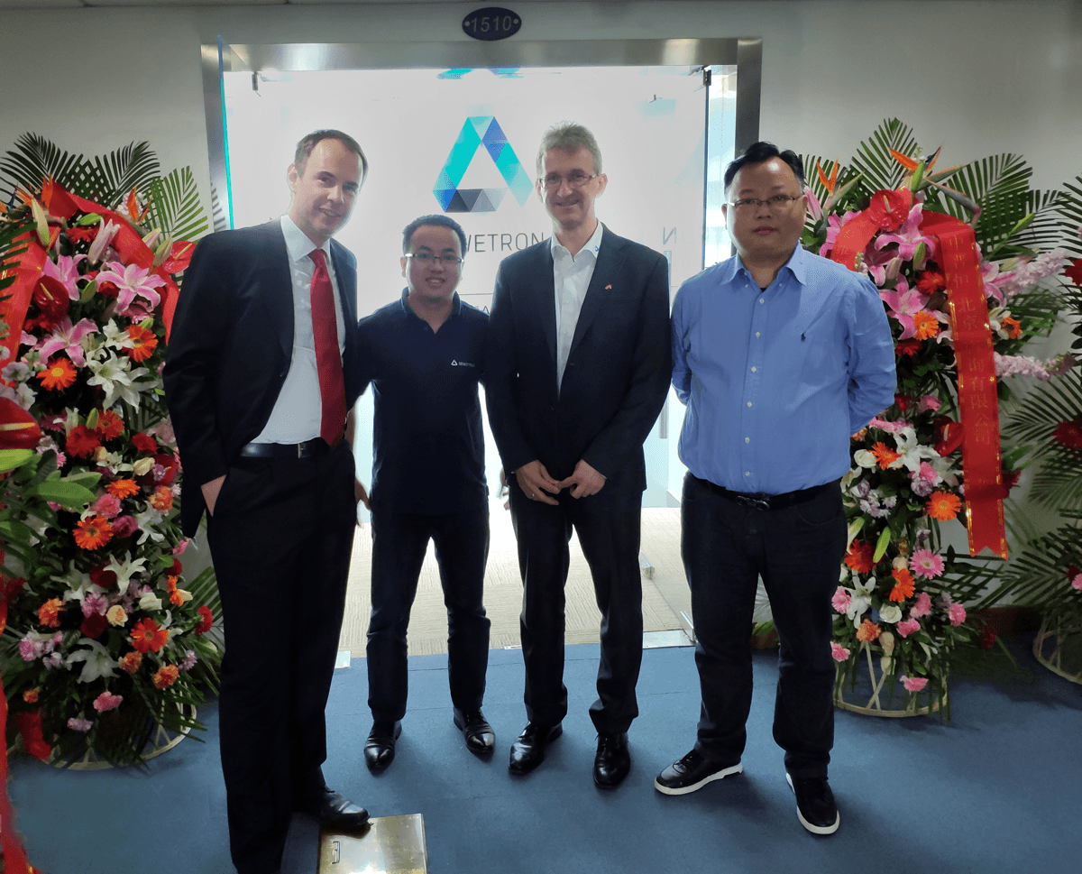 Opening of the new DEWETRON China office
