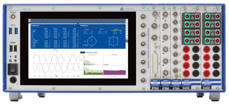 DEWE2-PA7 Power Analyzer
