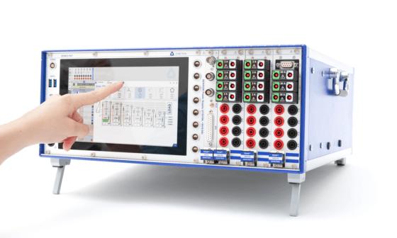DEWE2-PA7 Power Analyzer with hand