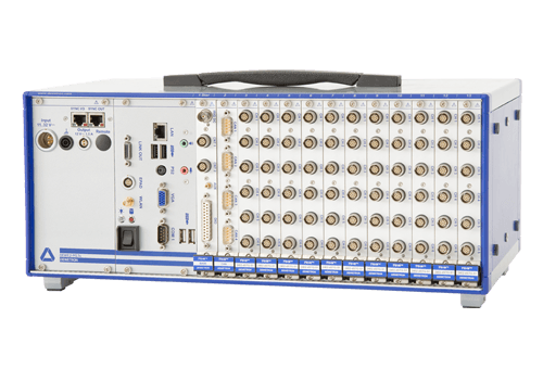measurement tool DEWE2-M13 with 13 TRION modules for high-speed data acquisition and following data analysis