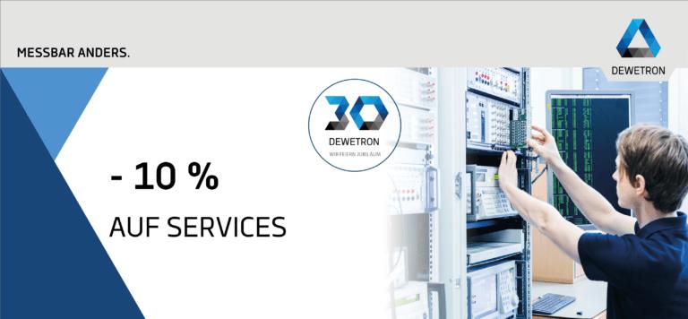 anniversary discount 10 percent services