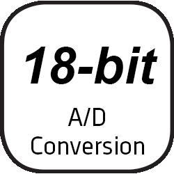18-bit A/D Conversion