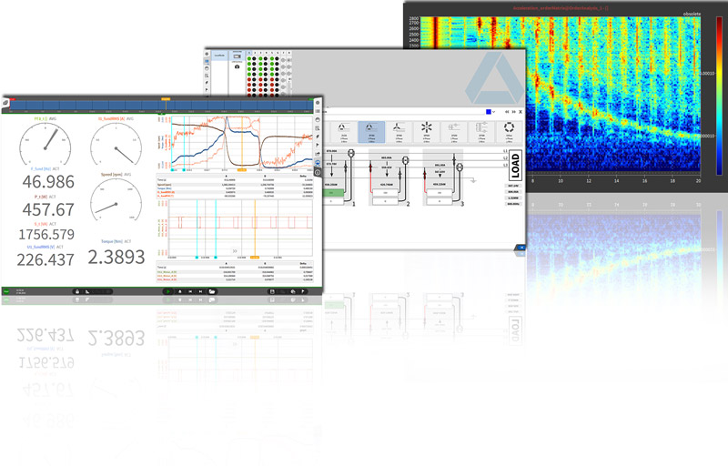 OXYGEN Measurement Software Screens