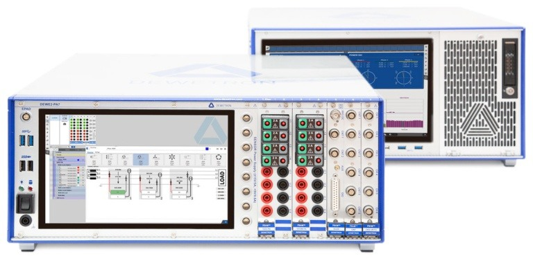 DEWE2-PA7 and DEWE3-PA8 Power Analyzer