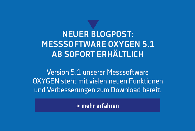 Banner for the Release of the new Version of OXYGEN - OXYGEN 5.1