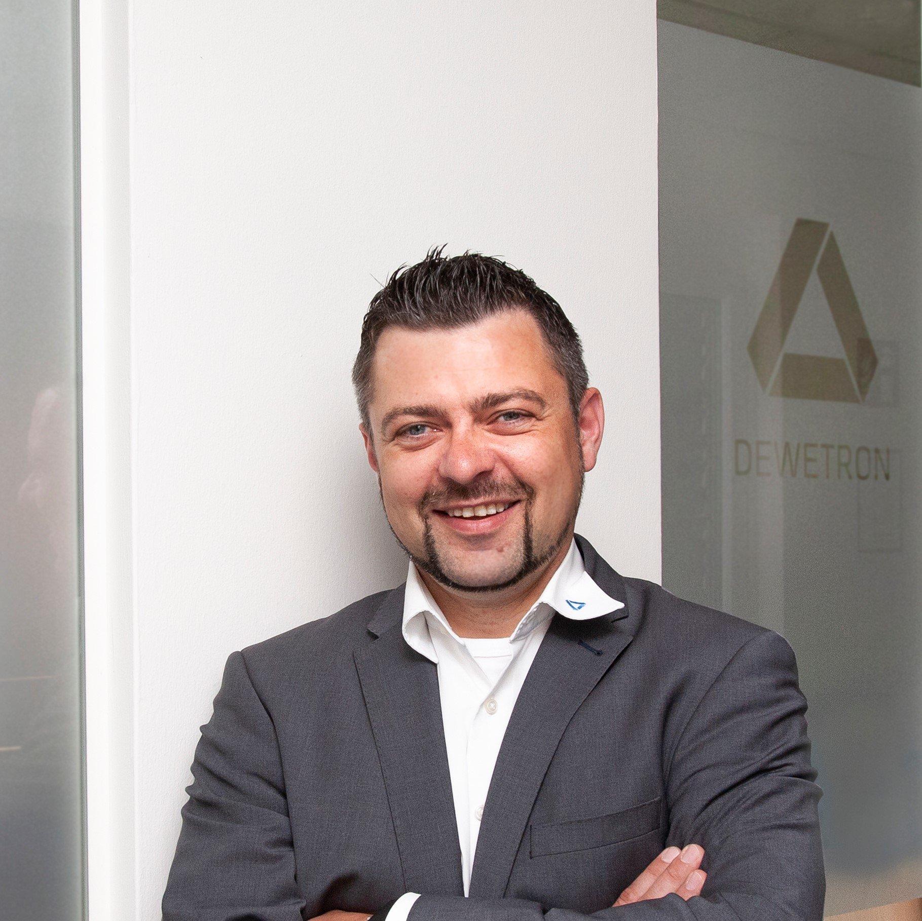 Sven Deckert - DEWETRON's Senior Sales Manager