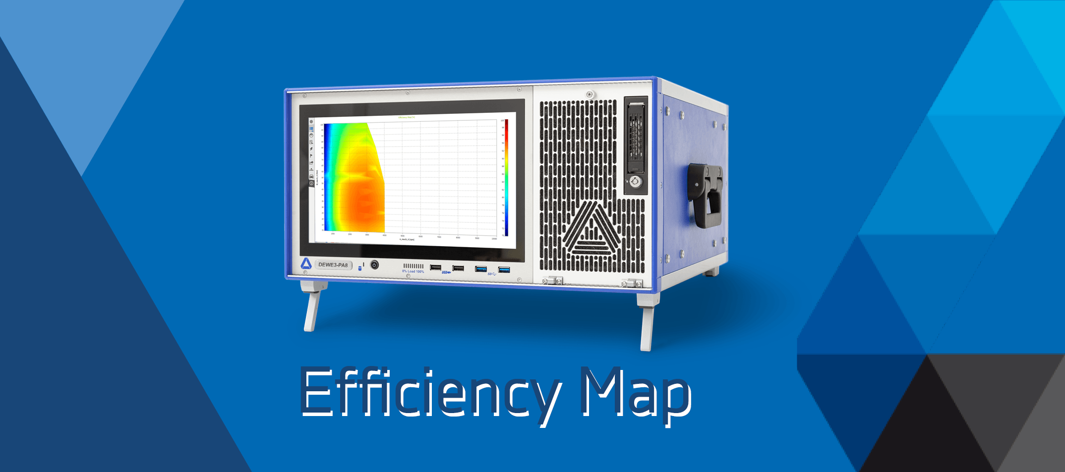 Efficiency Map on Power Analyzer