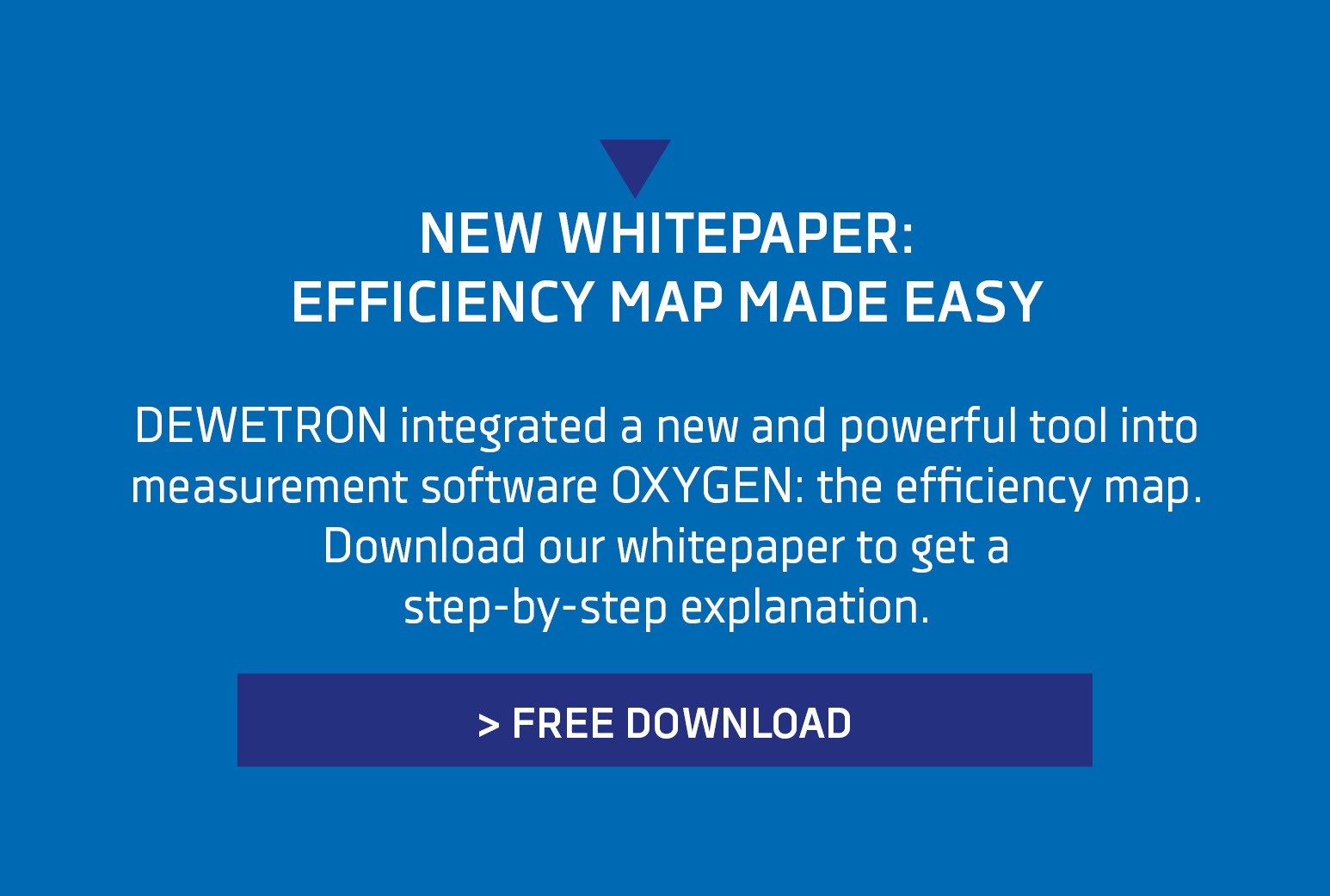 Efficiency Map Banner
