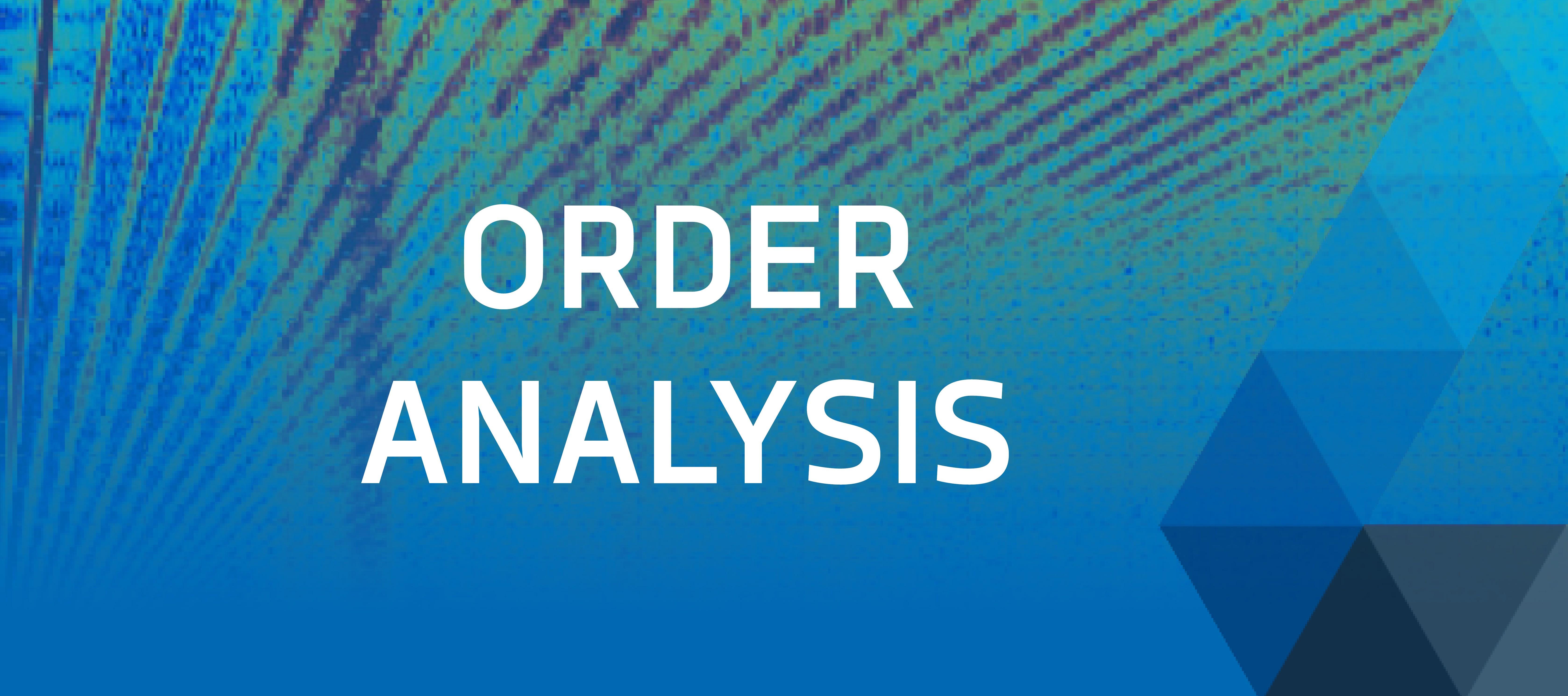 Order Analysis by DEWETRON banner
