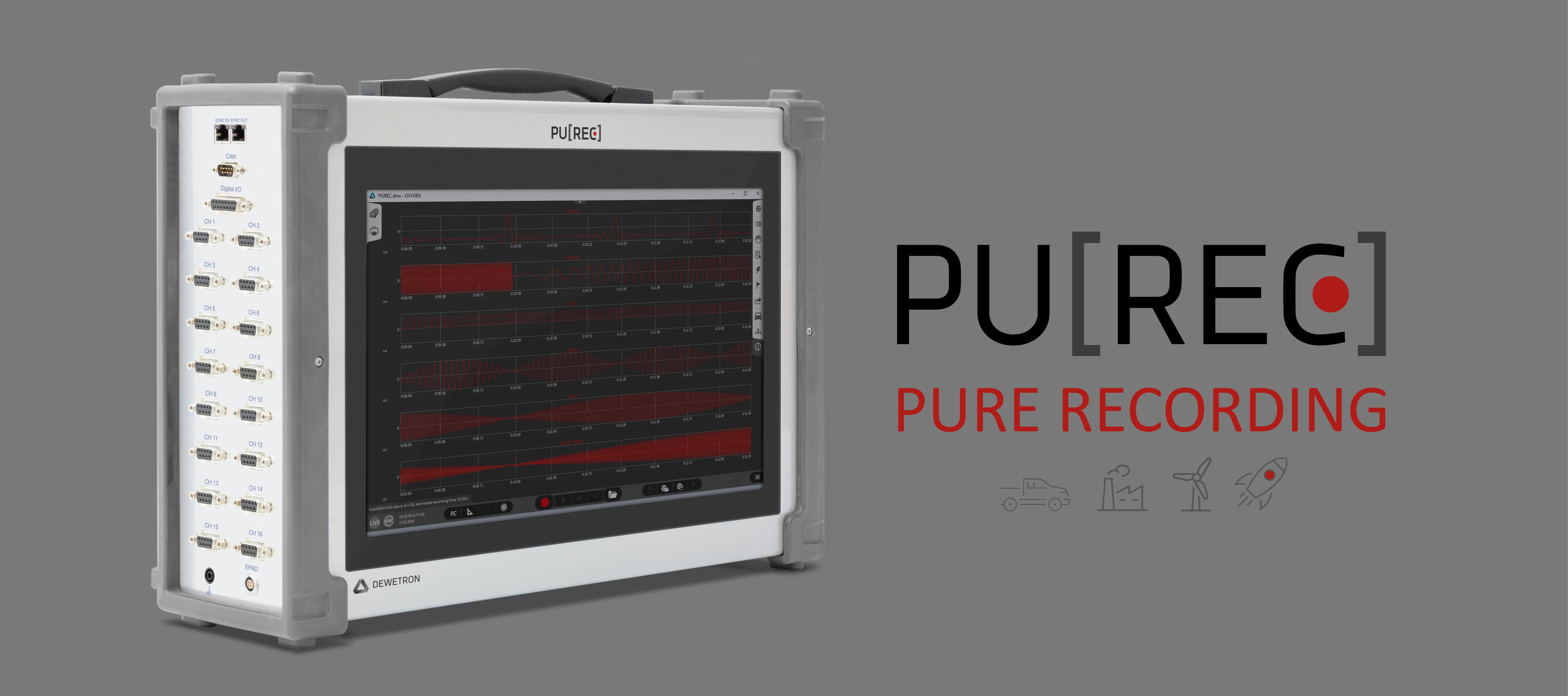 PU[REC] Datenrekorder