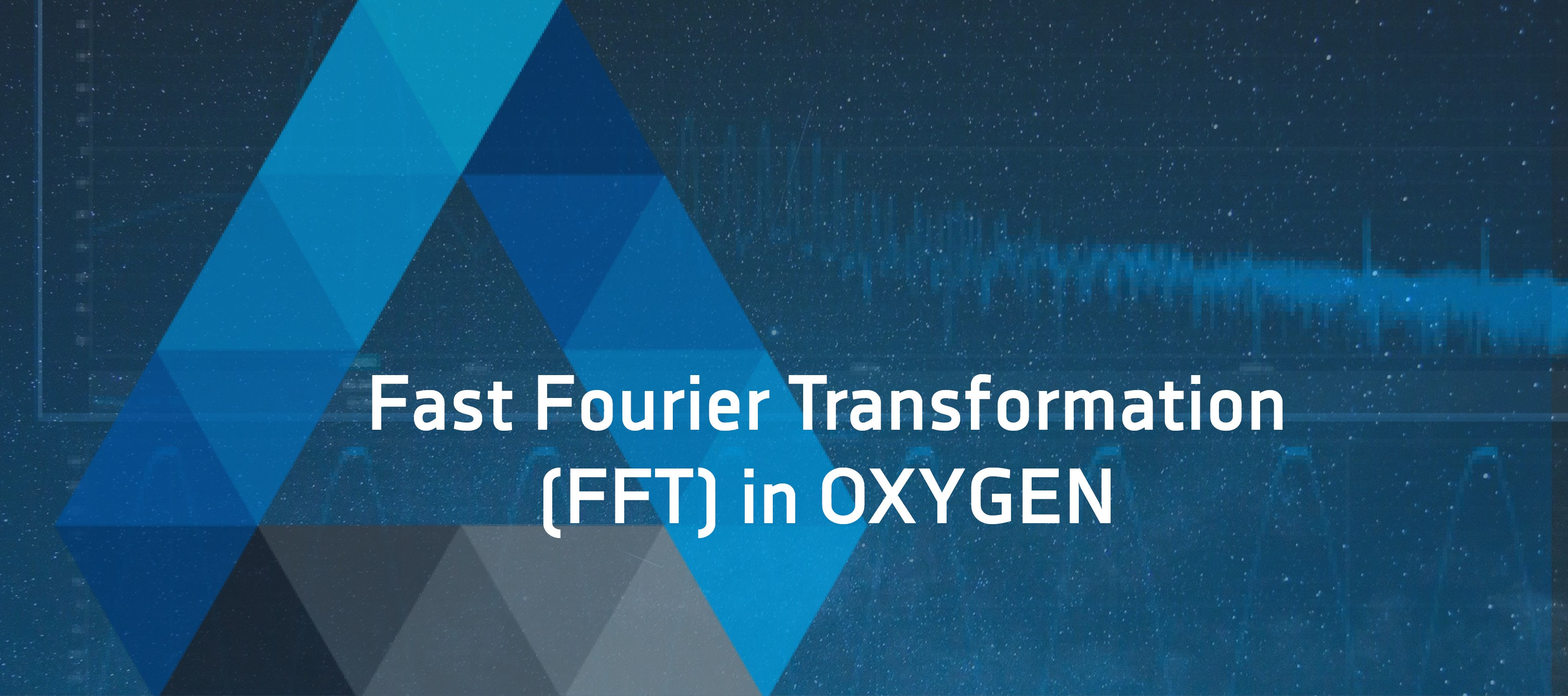 Fast Fourier Transformation (FFT) Intro