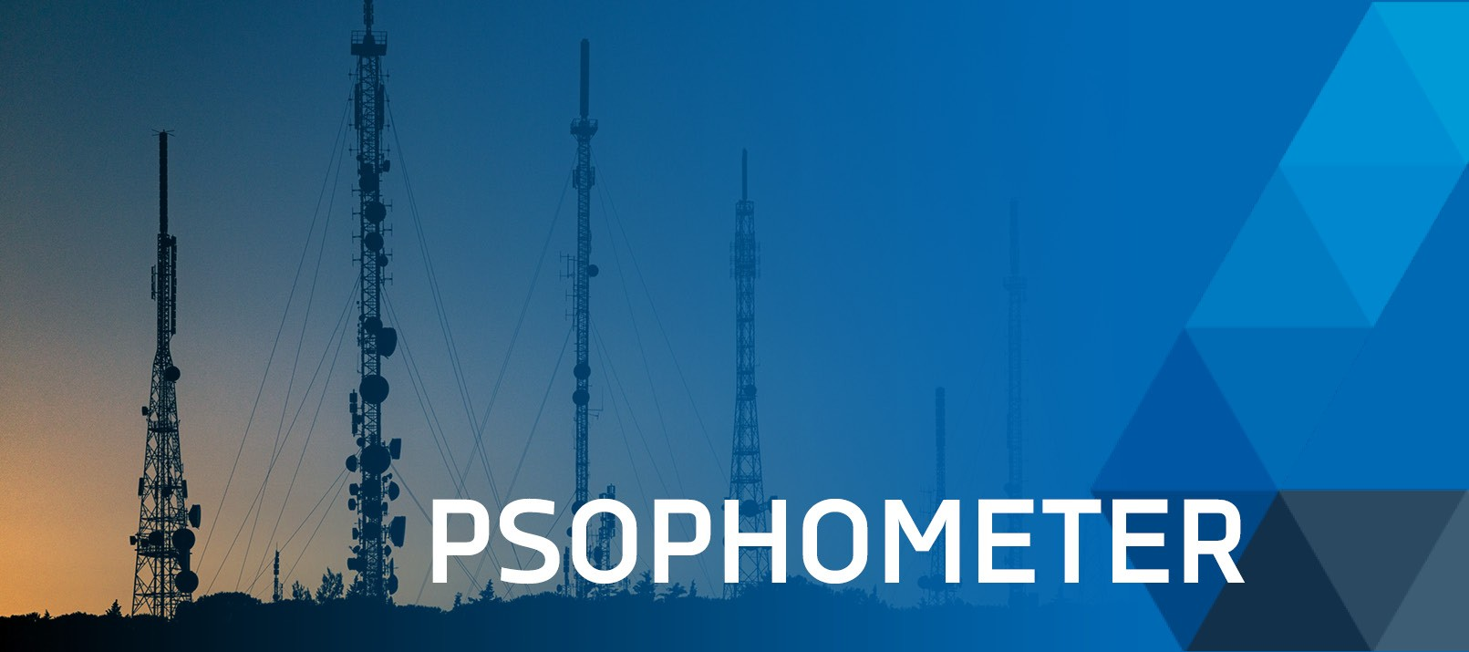 Psophometer used in telecommunication