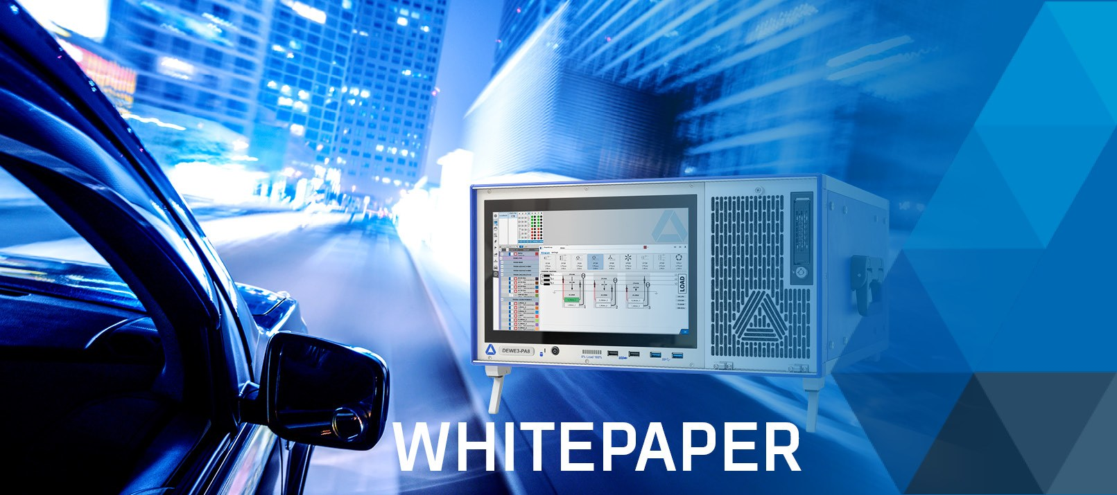 Banner for whitepaper about dynamic power analysis