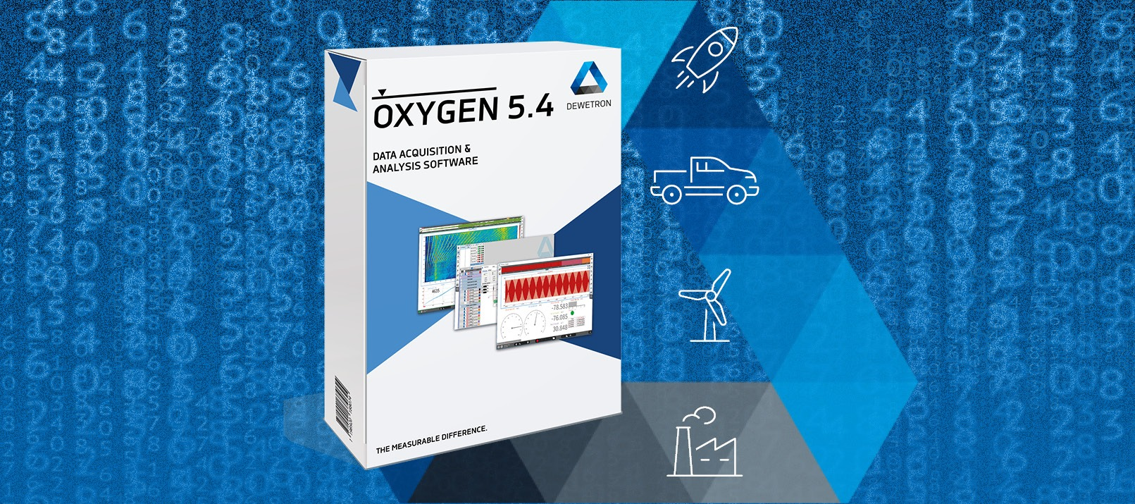 Banner with OXYGEN 5.4 Software Package