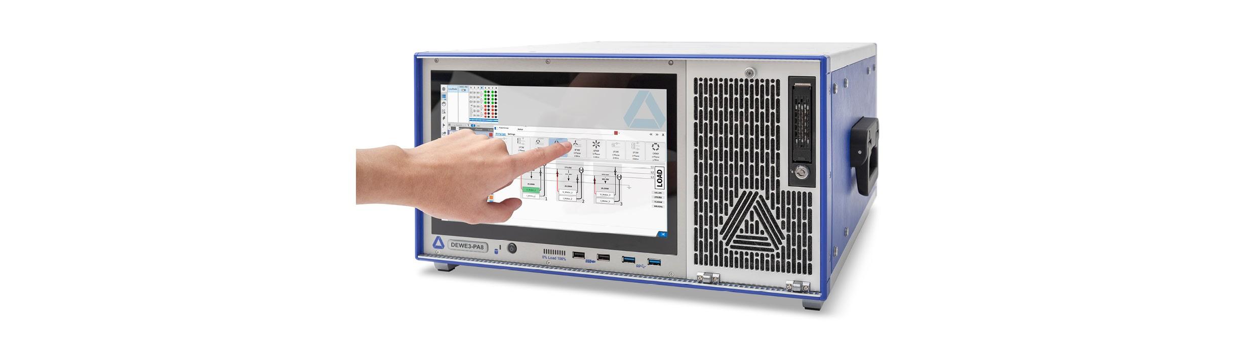 Power Analyzer DEWE3-PA8