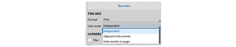 Adaptive Linking of Recorder Instruments