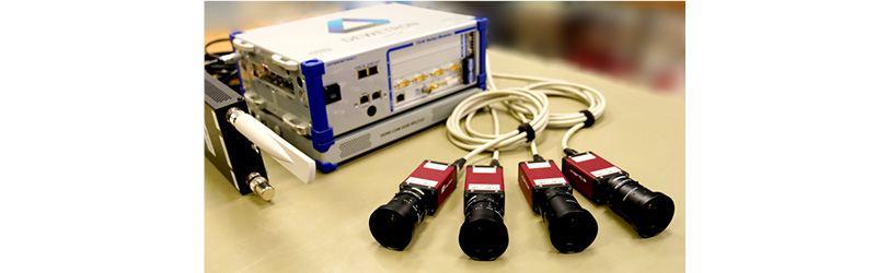DEWE2-M4 mit GigE-cameras