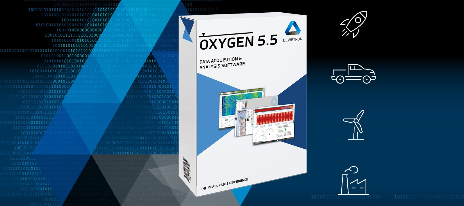 OXYGEN 5.5 - the banner for the new software update