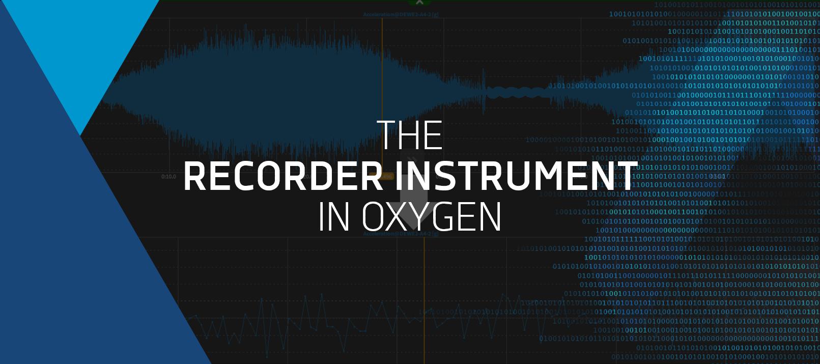 oxygen-recorder-instrument