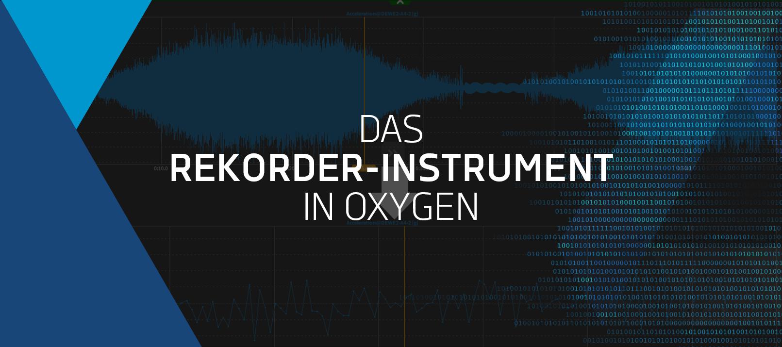 oxygen-rekorder-instrument