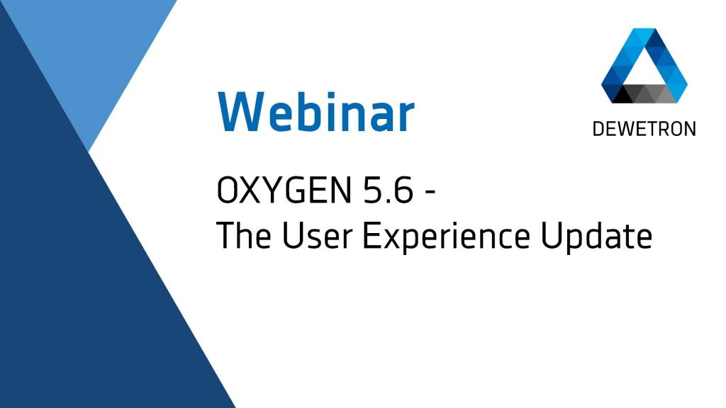 OXYGEN 5.6 Webinar Banner