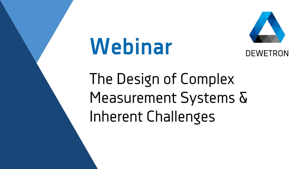 The Design of Complex Measurement Systems & Inherent Challenges