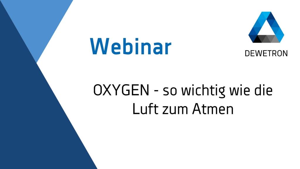 OXYGEN 5.2 Webinar