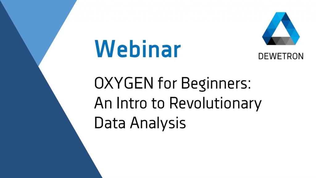 OXYGEN for Beginners - Webinar Banner